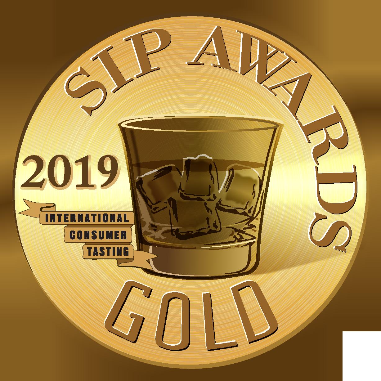 2019 Sip Awards Gold medal