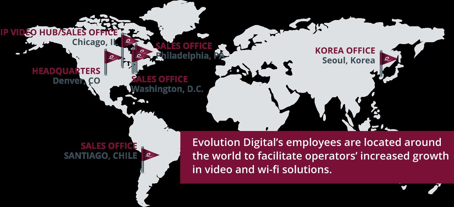 Evolution Digital Global Locations