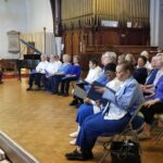 PACE participants practice for the Jubilee Chorus