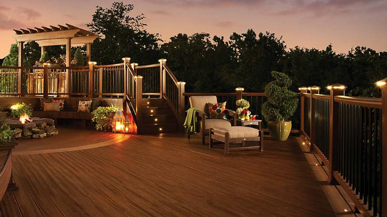 deck lighting in Gainesville GA