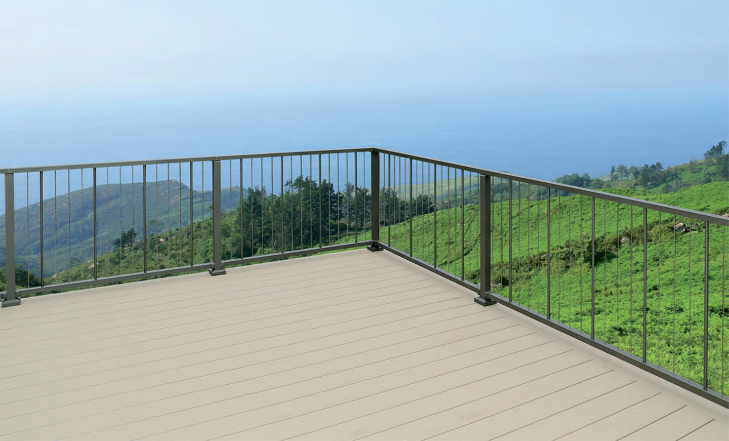 Vertical Cable Railing in Gainesville GA