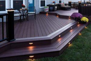 Deck Step Outdoor Lighting