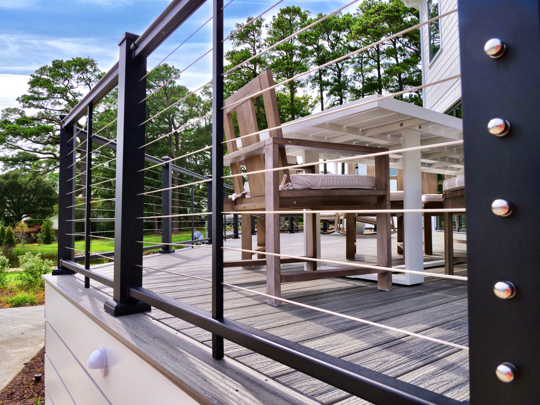 Horizontal Cable Railing in Gainesville GA