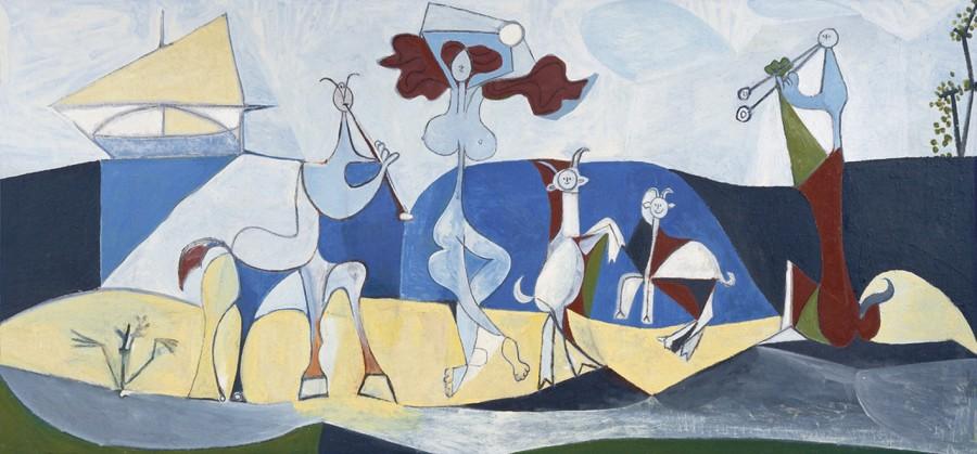 Antibes : La Joie de Vivre by Pablo Picasso (1946)