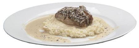 Llama meat with quinoa