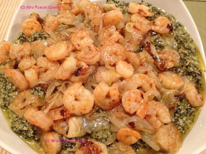 Shrimp Ndole