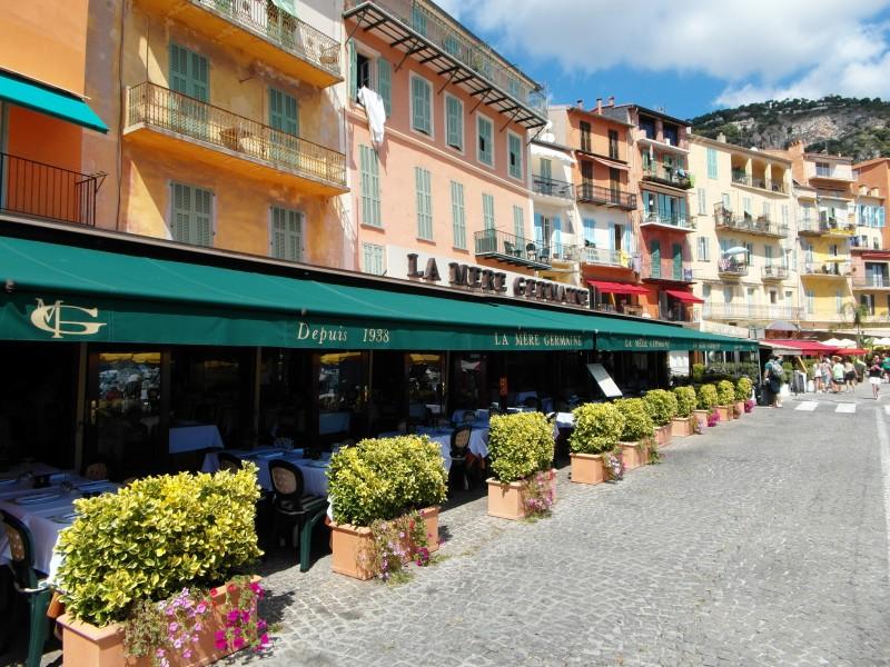 Bouillabaisse anyone? Restaurant La Mere Germaine in Villefranche sur Mer