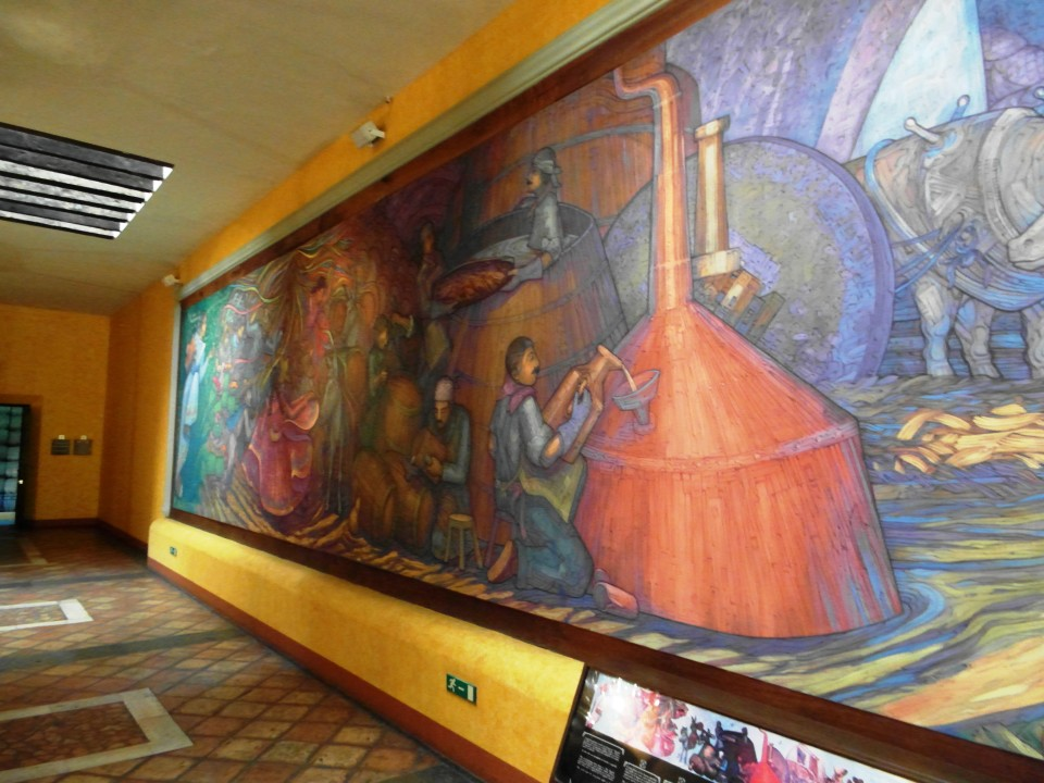 Jose Cuervo La Rojena - Mural