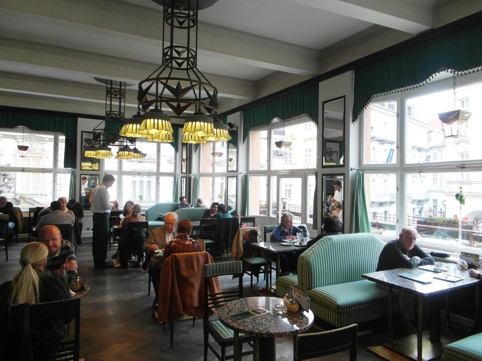 Prague Cafes : Grand Cafe Orient