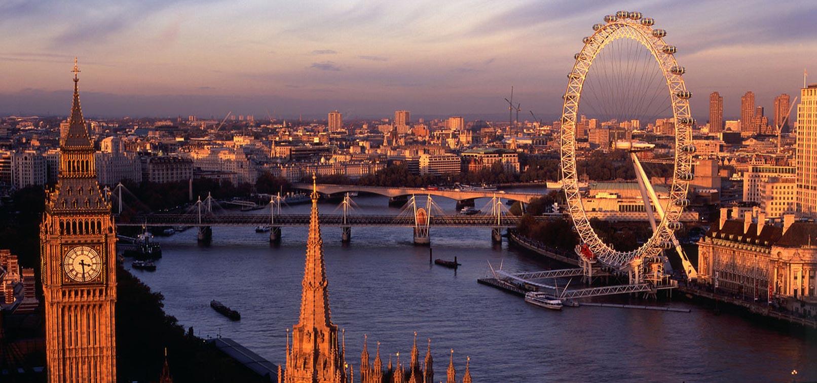 Travel destinations of a lifetime: London England (photo www.excel-london.co.uk)