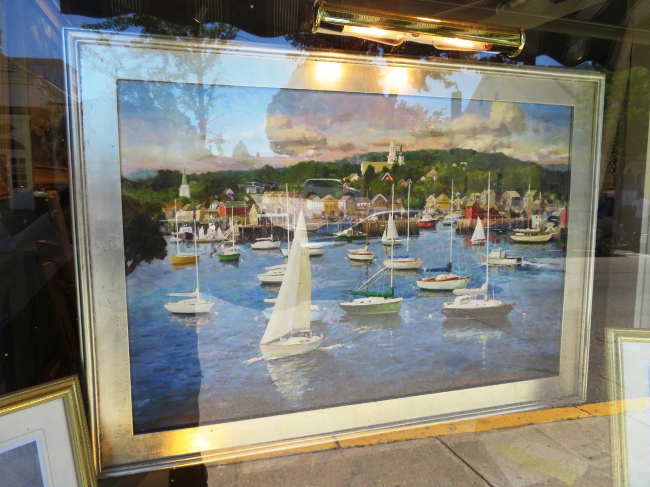 Emerson Inn by the Sea : One of many art galleries in Rockport MA