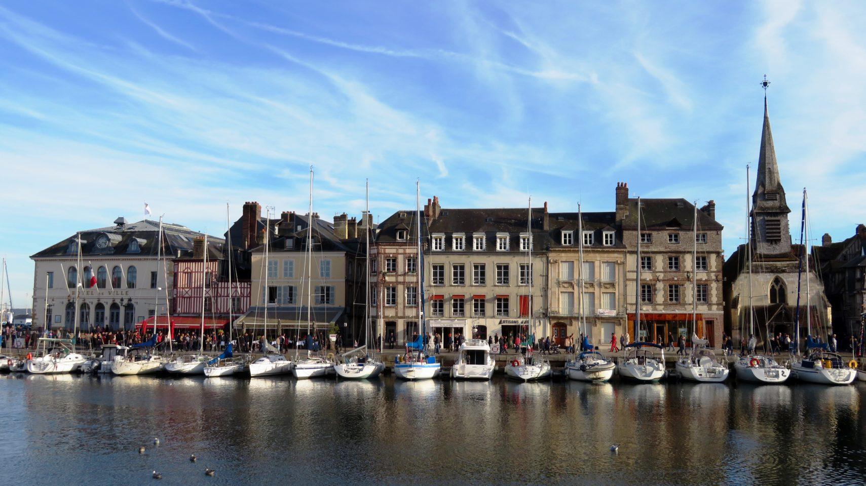 Honfleur, Normandie, France (Paris and Normandie AMAWaterways Cruise)