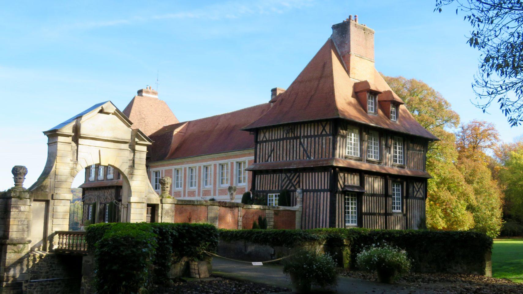 Chateau du Breuil in Normandie, France (Paris and Normandie AMAWaterways Cruise)