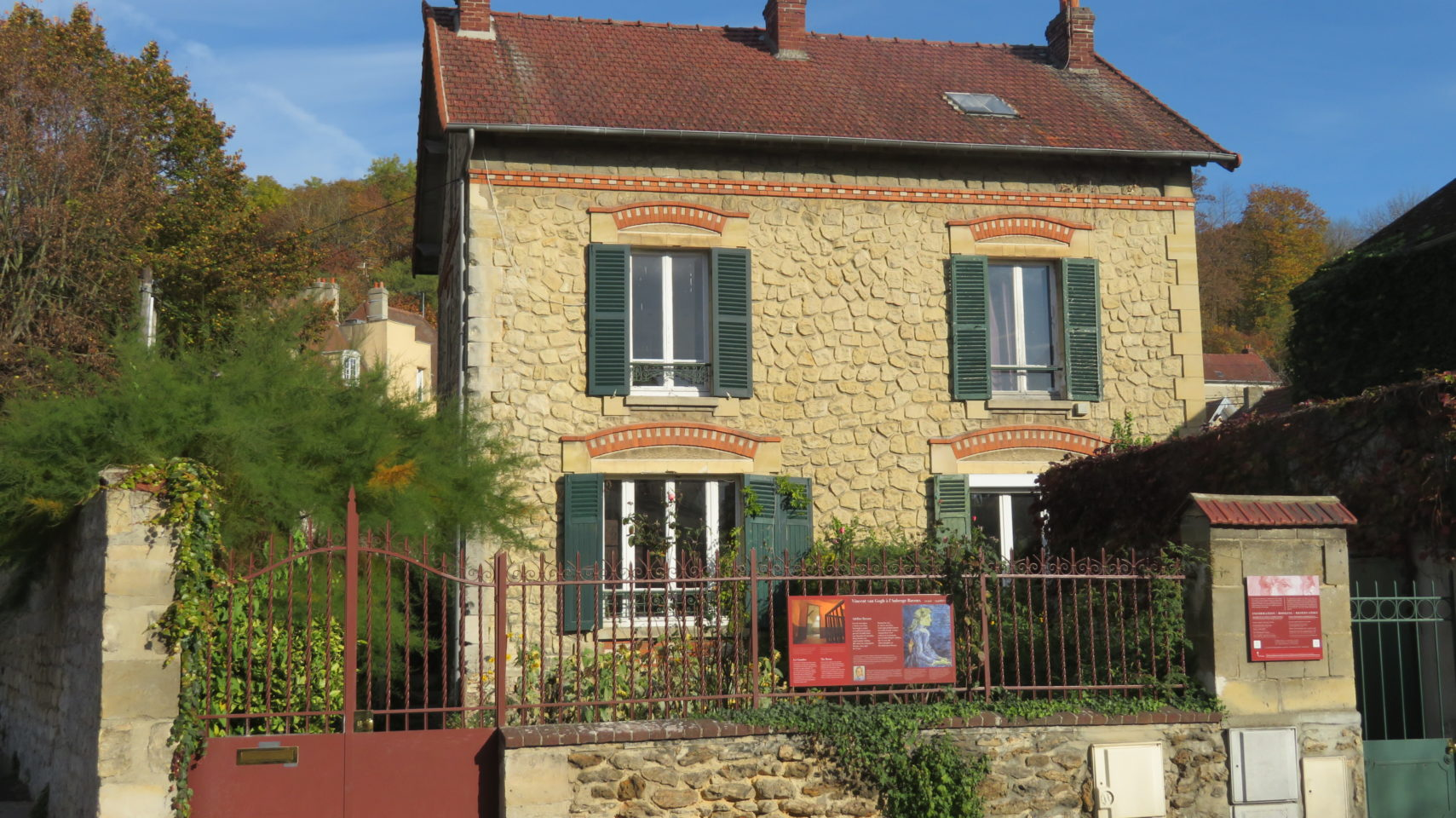 Vincent Van Gogh lived at Auberge Ravoux in Auvers-sur-Oise, France (Paris and Normandie AMAWaterways Cruise)