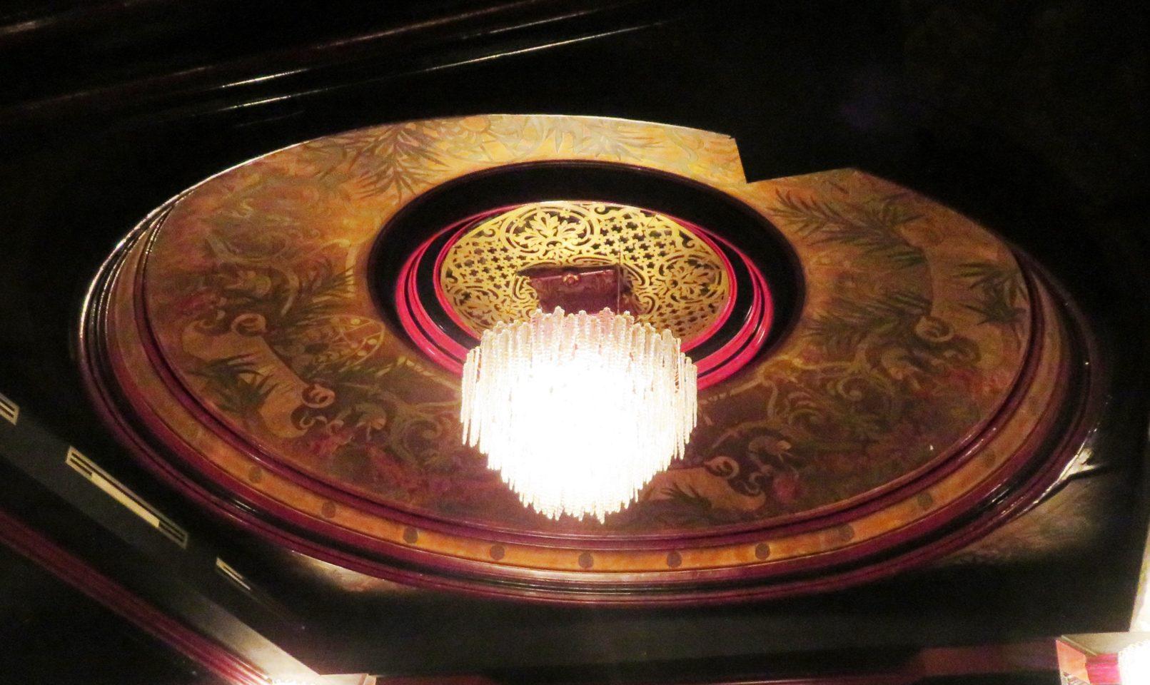 The magnificent cupola of the Paradis Latin cabaret ~ Paris, France