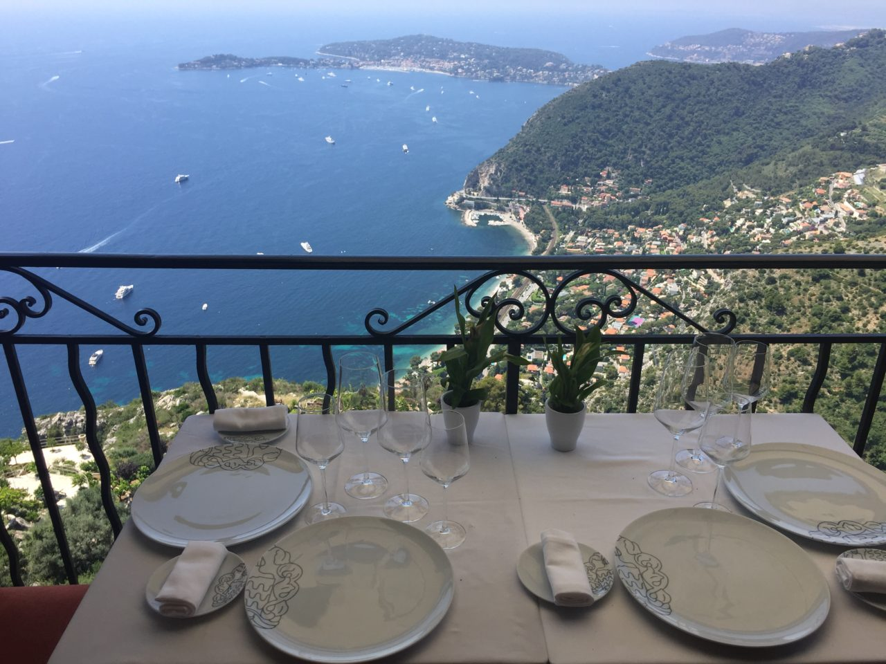 Lunch at Chateau Eza in Eze near Nice ~ When in Nice, we live to eat !