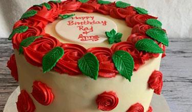 customize happy birthday cake