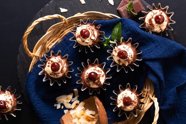 tasty Black Forest Gateau cake