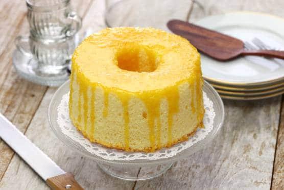 fluffy lemon chiffon cake