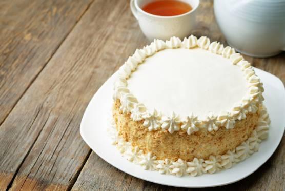 cream sponge cake