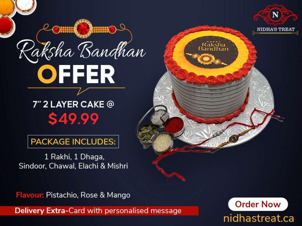 Offer graphic for rakhi festival