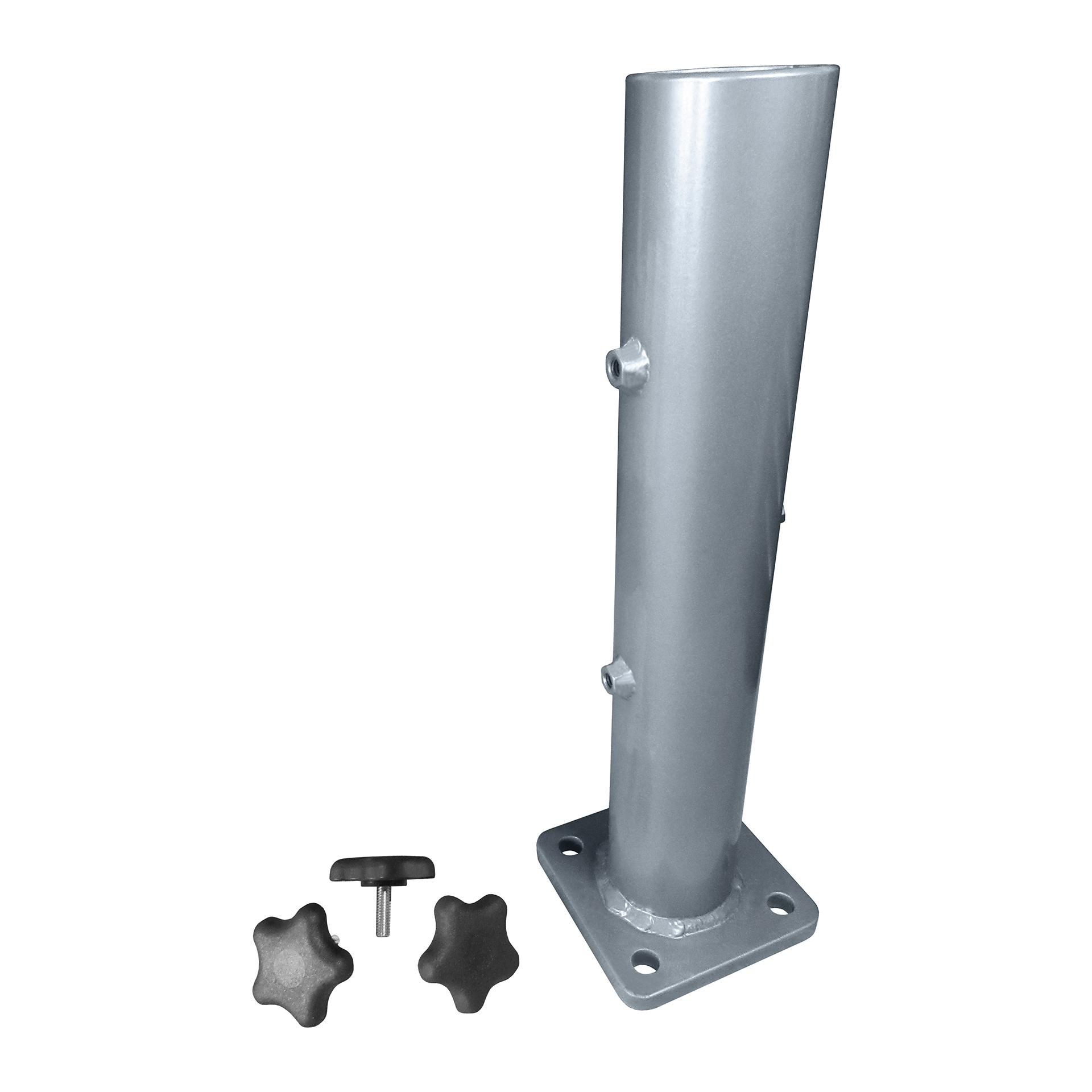 Large Deck / Concrete Umbrella Anchor Mount B6