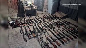 ԱԱԾ-ն բացահայտել է․ մարտի դաշտից ապօրինի կերպով ՀՀ զենք-զինամթերք տեղափոխած անձը ոստիկան է