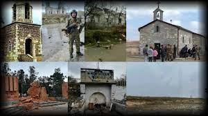 Դատապարտելը բավական չէ, պետք է թիկունքում պետություն ունենալ. Ադրբեջանի ավերած եկեղեցու հետքերով