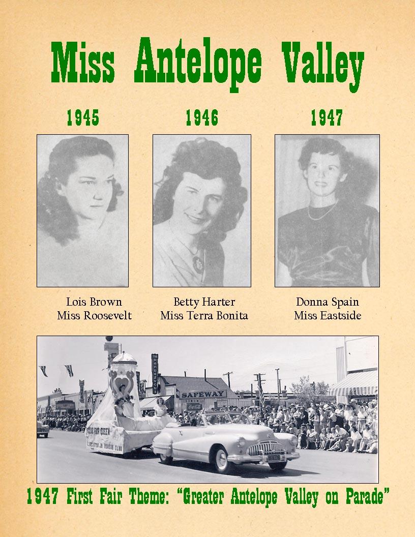 1945-47 Community Queens