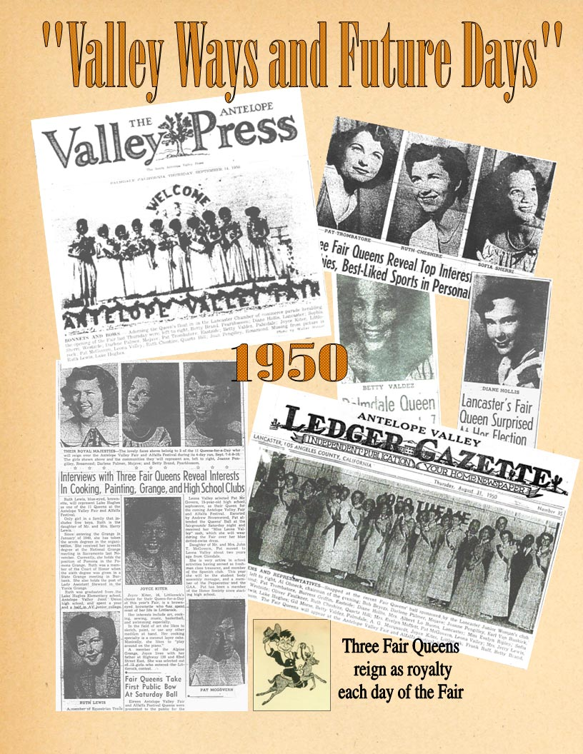 1950 – 1945 Community Queens