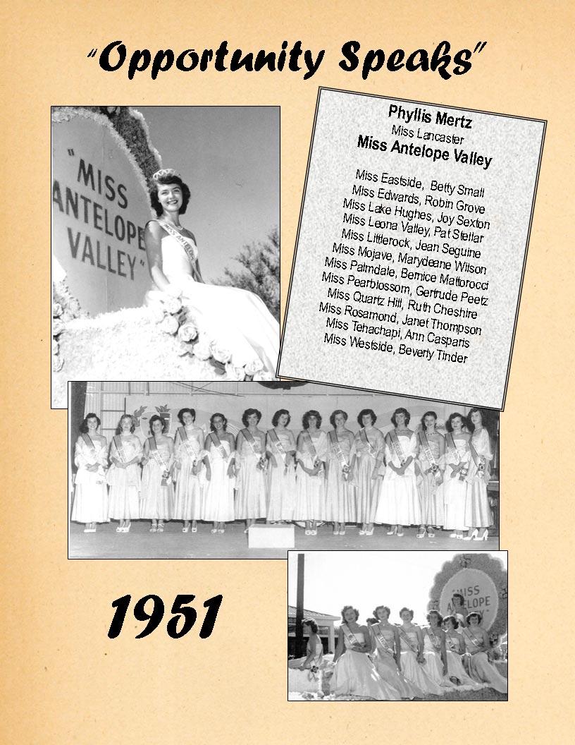 1951 Community Queens