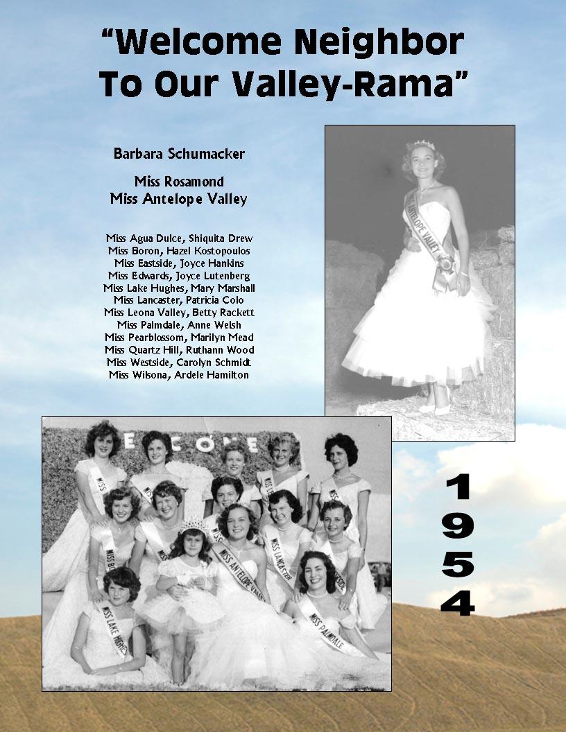 1954 Community Queens
