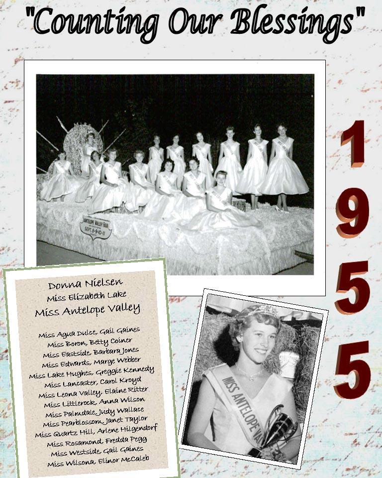 1955 – 1951 Community Queens