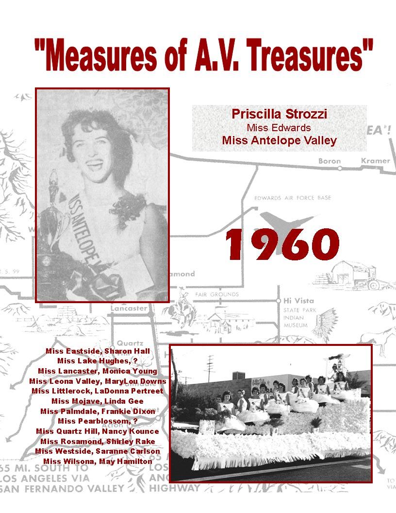1960 – 1956 Community Queens