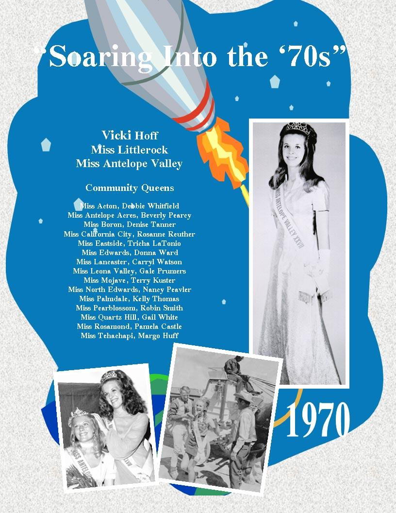 1970 – 1966 Community Queens