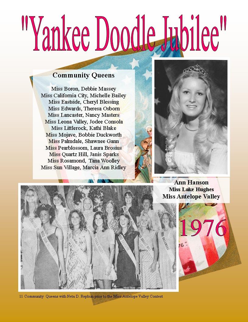 1976 Community Queens