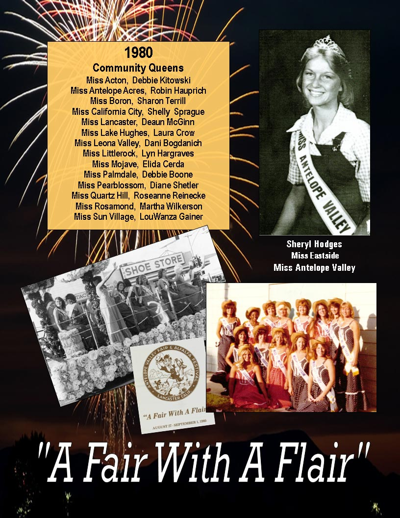 1980 – 1976 Community Queens