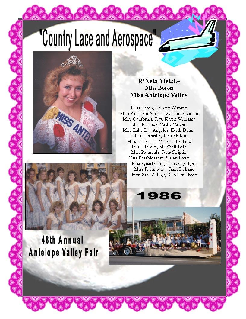 1986 Community Queens