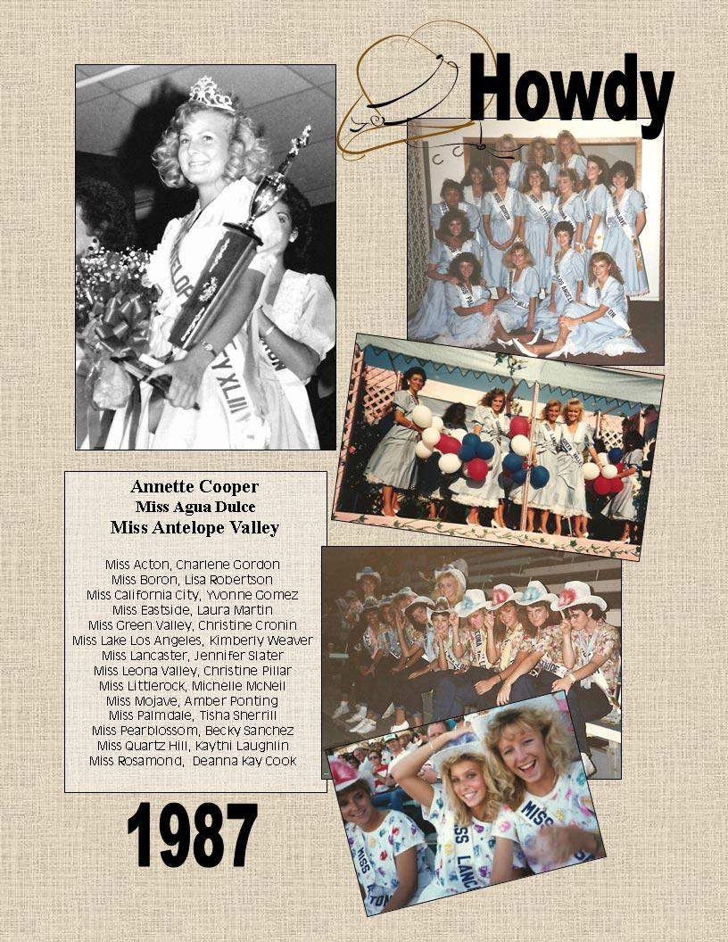 1987 Community Queens
