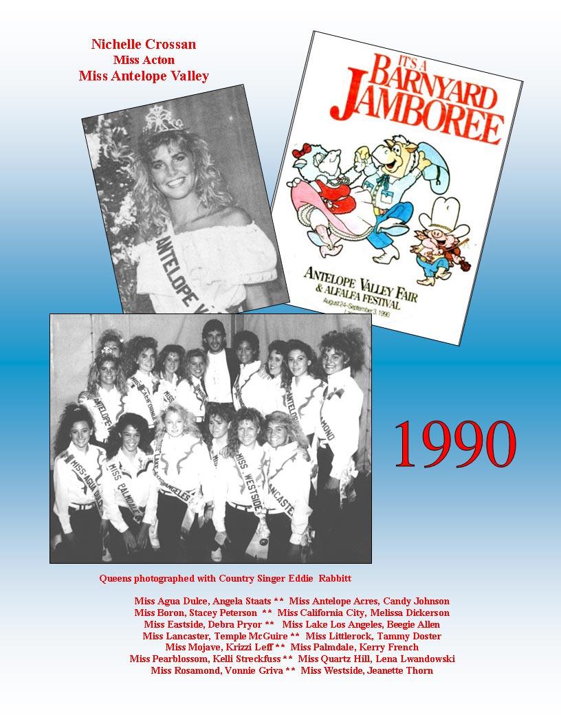 1990 – 1986 Community Queens