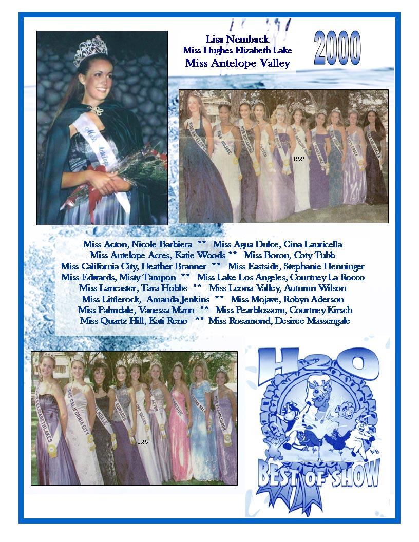 2000 – 1996 Community Queens
