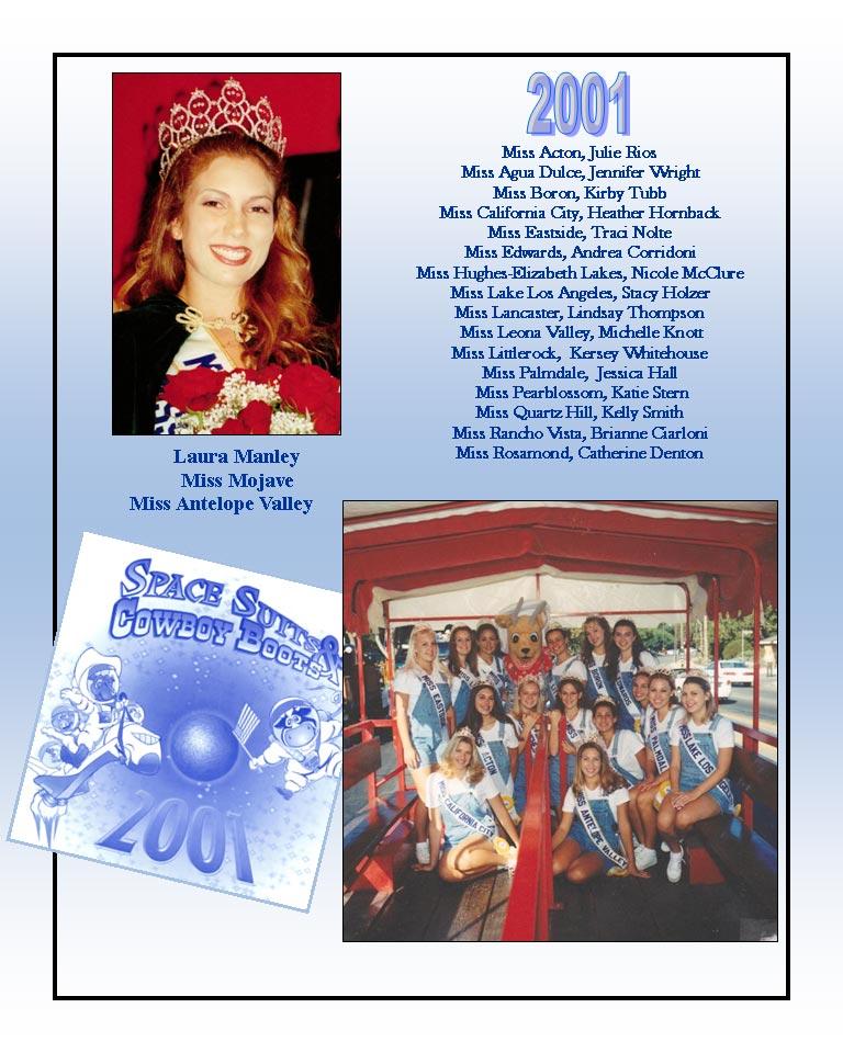 2001 Community Queens