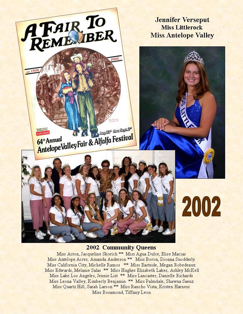 2002 Community Queens