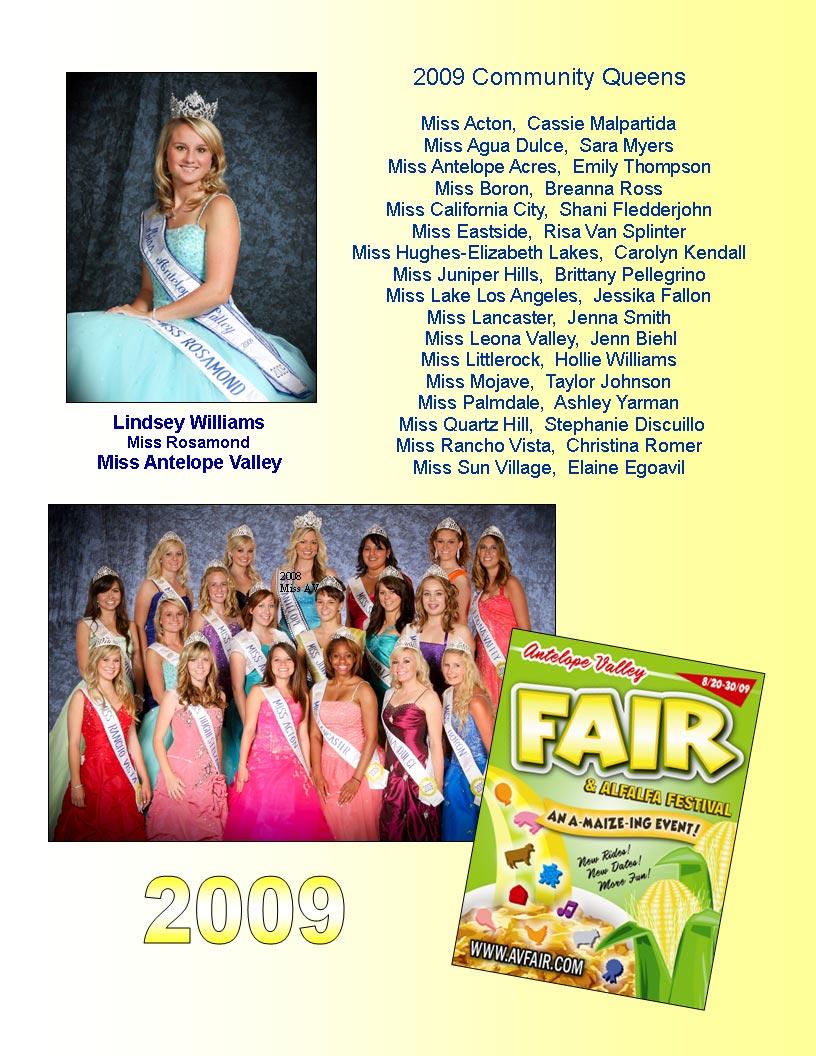2009 Community Queens