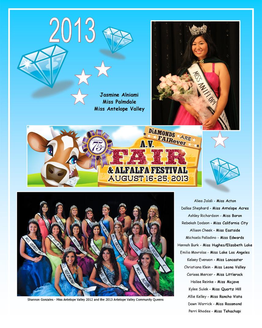 2013 Community Queens
