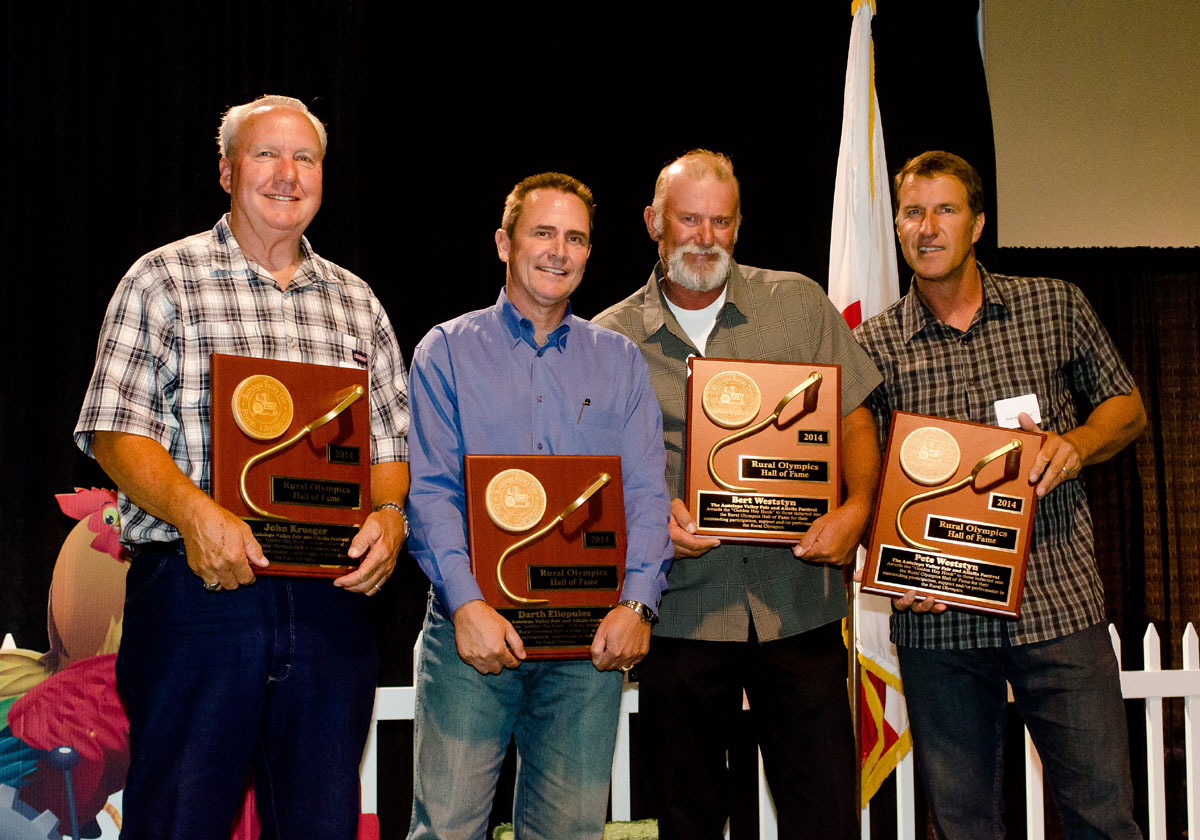 2014 Rural Olympics Hall of Fame