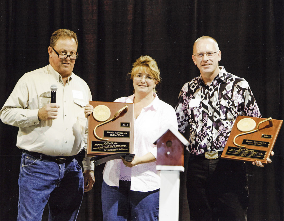 2015 Rural Olympics Hall of Fame