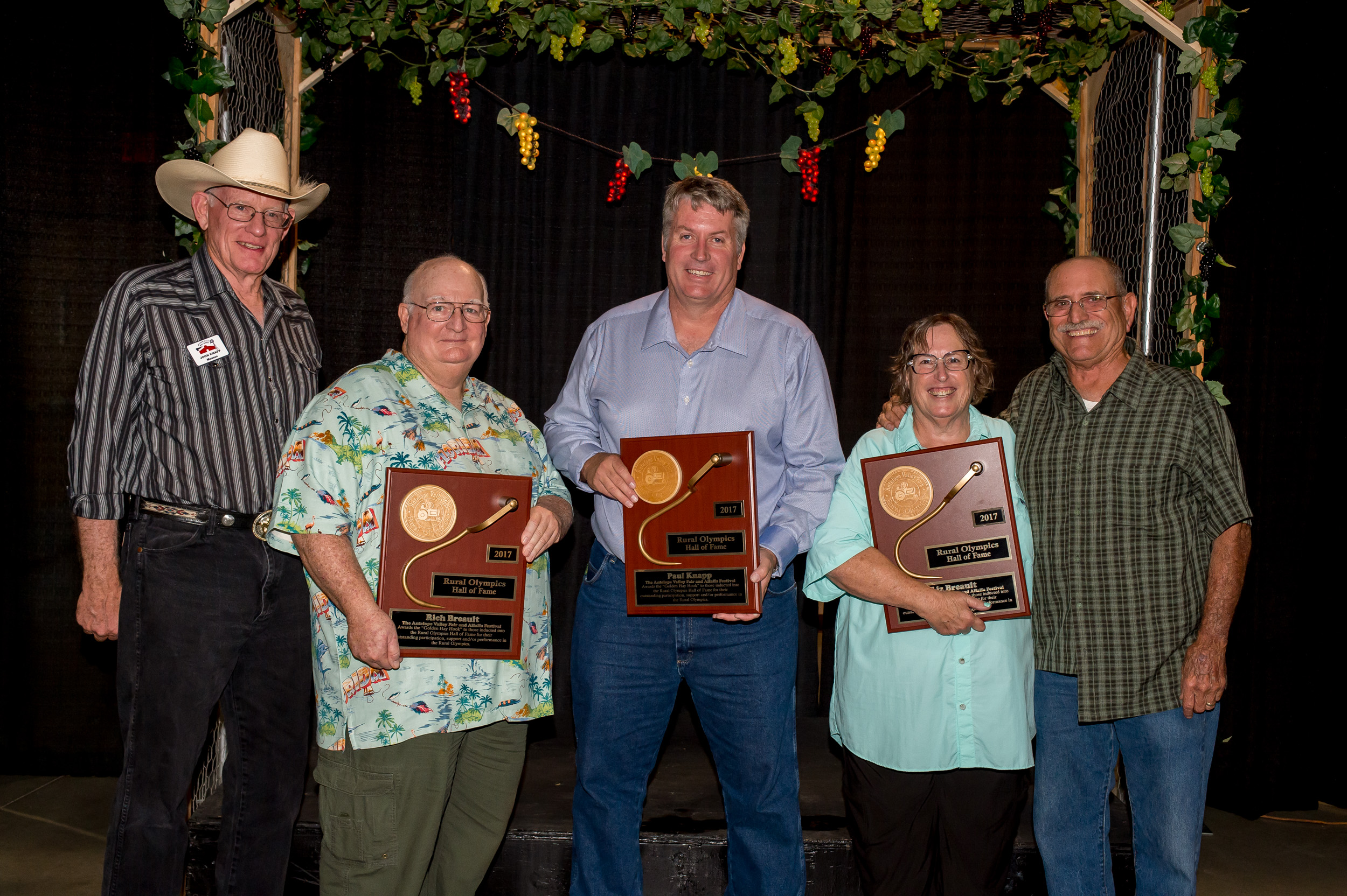 2017 Rural Olympics Hall of Fame