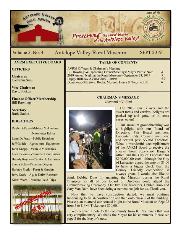 Newsletter Sep Vol.3, No.4