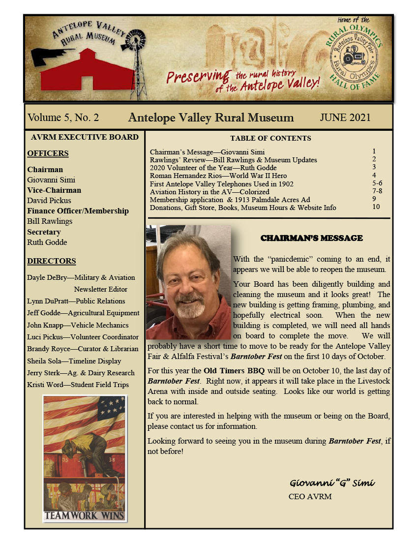 Newsletter Jun Vol.5, No.2